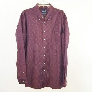 Stafford Travel Wrinkle-Free Oxford Shirt
